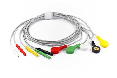 5svodový pacientský kabel k EKG holteru Clickholter (výroba do r. 2017)