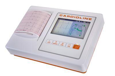 Přímopíšící EKG Cardioline ECG100L FULL - 1