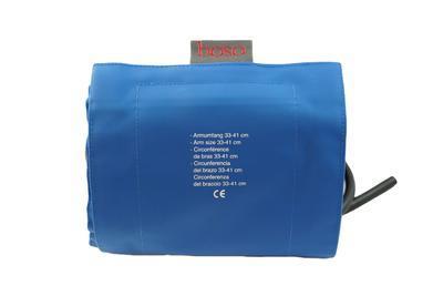Manžeta Boso  pro silné paže,  modrá, 1 hadička, omyvatelná  obv.33-41 cm - 1