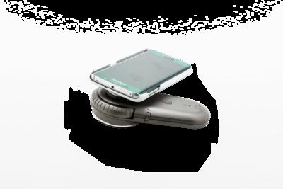 Rámeček pro připojení mobilního telefonu SAMSUNG k dermatoskopům ILLUCO řady IDS-1100 - 1