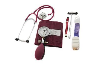 Diagnostický set F. Bosch, burgundy
