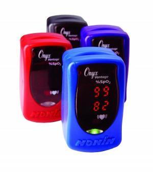 Prstový pulzní oxymetr Nonin 9590 Onyx Vantage, barva modrá  - 1