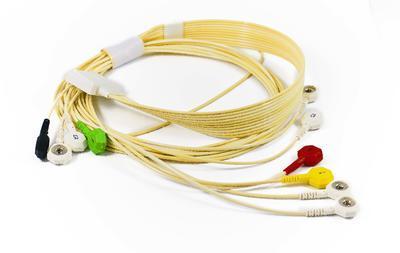 10svodový pacientský kabel pro Clickholter/Walk400h