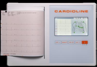 Přímopíšící Cardioline ECG200L - 1