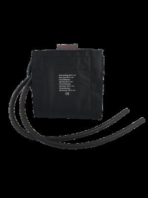 Manžeta Boso pro silné paže, černá, 2 hadičky, vak 12x35 - 1