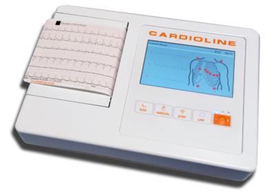 Přímopíšící EKG Cardioline ECG100L - 1