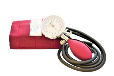 Deformační tonometr Prakticus II F. Bosch, chrom, burgundy