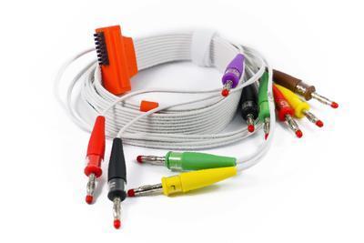 EKG pacientský kabel Cardioline HD+, 10 svodů, 4mm kolíky