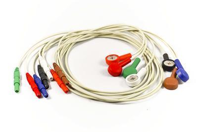 7svodový pacientský kabel k EKG holteru Clickholter (výroba do r. 2017)