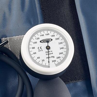 Deformační / budíkový tlakoměr Accoson Limpet Hand model - 1