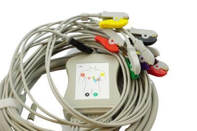 Pacientský kabel EKG BTL kleštičky_VÝPRODEJ - 1