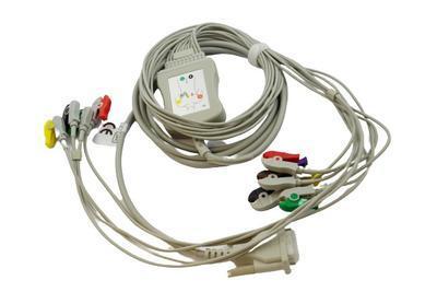 Pacientský kabel EKG kleštičky_VÝPRODEJ - 1