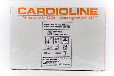 Skládaný termopapír 100 mm x 150 mm x 180 listů (pro 100S/+) - 1