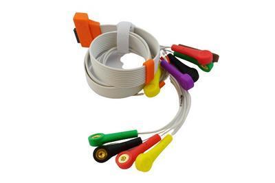 EKG pacientský kabel Cardioline HD+, 10 svodů, patentky - 1
