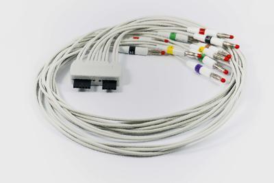 EKG pacientský kábel Cardioline pre EKG prístroj ClickECG, 10 zvodov, 4mm kolíky