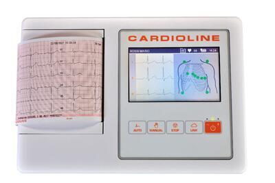 Přímopíšící EKG Cardioline ECG100L FULL - 2