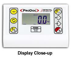 Sloupcová digitální váha Detecto ProDoc PD300M DHR__VÝPRODEJ - 2