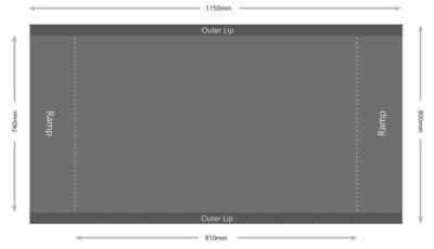 Plošinová váha Marsden M-650 - 2