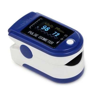 Prstový pulzný oxymeter Contec CMS-50D - 2
