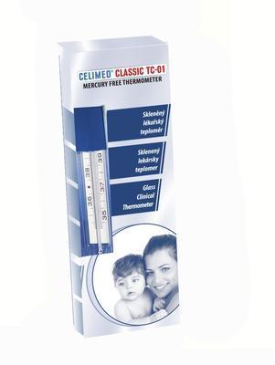 Lekársky sklenený teplomer Classic TC01 - 2