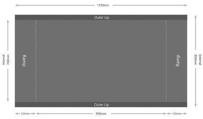 Plošinová váha Marsden M-651 - 2