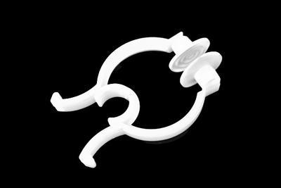 Nosní klip plastový, bílý (4ks)_VÝPRODEJ - 2