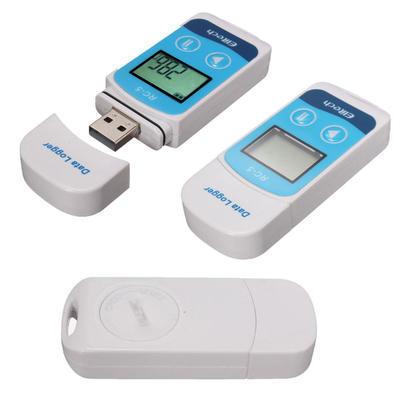 USB Datalogger BLUE pro sledování léčiv s pamětí, vč. kalibrace teploty - 2