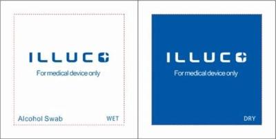 Jednorázové obrúsky k dermatoskopu ILLUCO rady IDS - 2