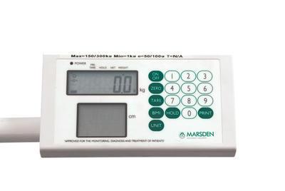 Sloupcová váha s výškoměrem Marsden M-100 - 2