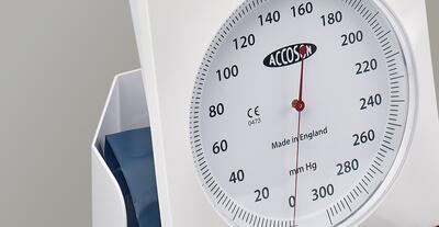 """Deformační tlakoměr Accoson 6"""" Aneroid Desk model - 2"""
