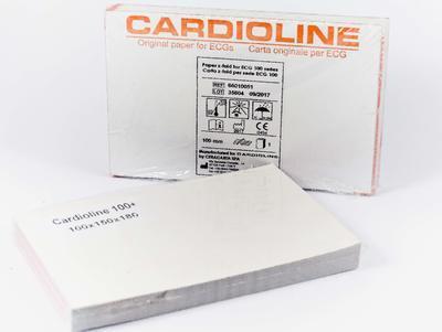 Skládaný termopapír 100 mm x 150 mm x 180 listů (pro 100S/+) - 2