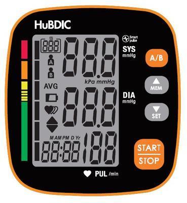 Digitální tlakoměr Hubdic HBP-1520 - 2