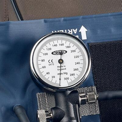 Deformační / budíkový tlakoměr Accoson Duplex Hand model - 2