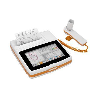 Spirometr MIR Spirolab 4 - se 100 jednorázovými turnbínky FlowMIR. - 2