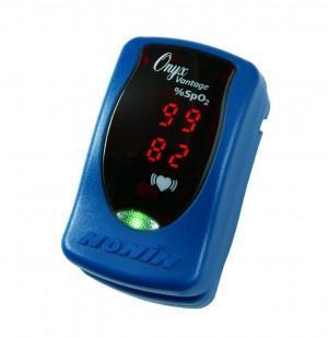 Prstový pulzní oxymetr Nonin 9590 Onyx Vantage, barva modrá  - 3