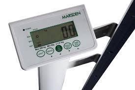 Sloupcová váha s výškoměrem MARSDEN M-125_VÝPRODEJ - 3