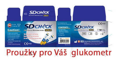 Glukometr SD Check Gold - 3