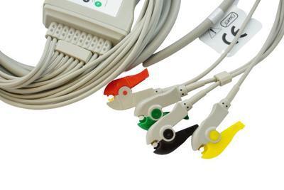 Pacientský kabel EKG kleštičky_VÝPRODEJ - 3