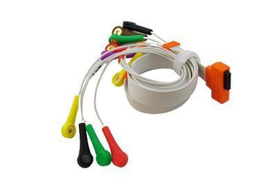 EKG pacientský kabel Cardioline HD+, 10 svodů, patentky - 3