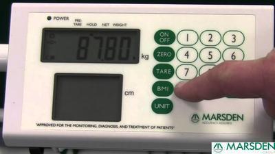 Křeslová váha Marsden M-210 - 4