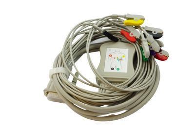 Pacientský kabel EKG kleštičky_VÝPRODEJ - 4