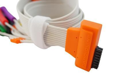 EKG pacientský kabel Cardioline HD+, 10 svodů, patentky - 4