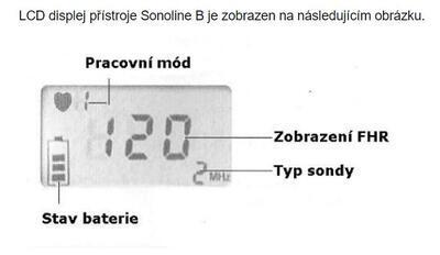 Fetálny doppler Sonotrax Sonoline B, rôznej farby - 5