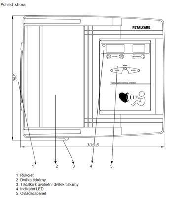 Kardiotokograf Bionet FC700 - 5