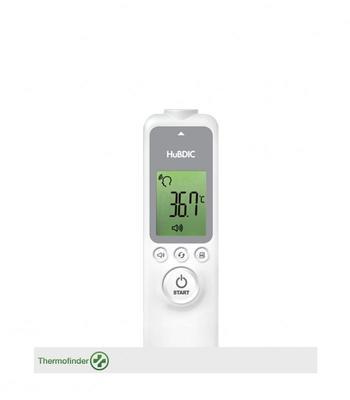 Bezkontaktní čelní IR teploměr HUBDIC HFS-1000 bez metrol. ověření - 6