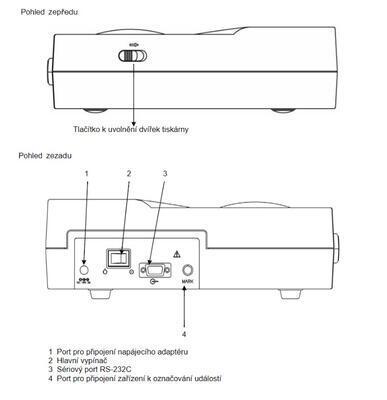 Kardiotokograf Bionet FC700 - 6