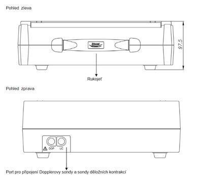 Kardiotokograf Bionet FC700 - 7
