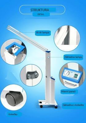 Germicidní UV lampa FY-30DC, 60 W - 7