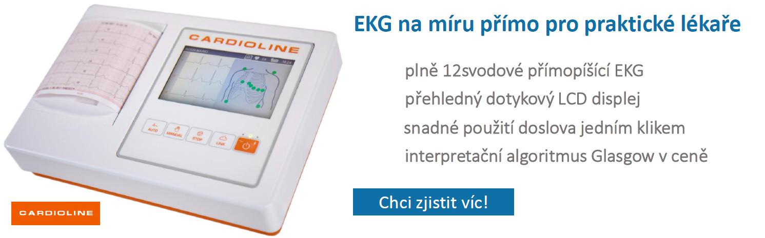 primopisici EKG Cardioline